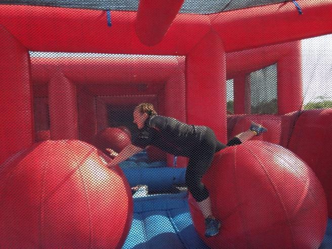 Big balls - big failure to jump over them