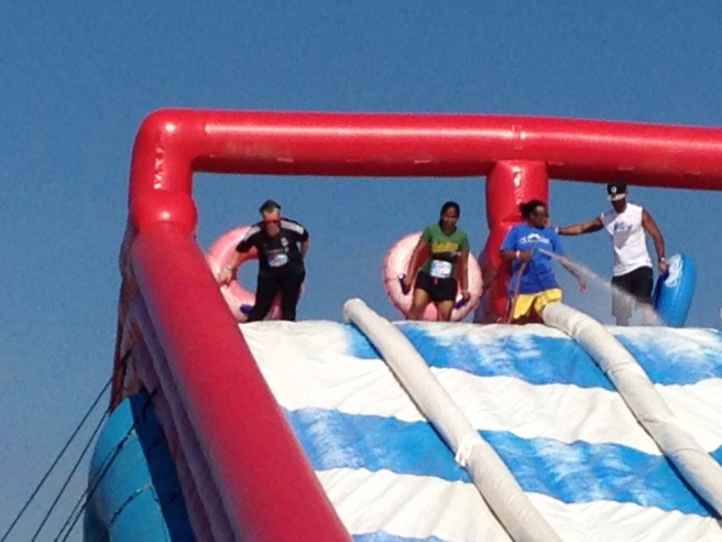 Inflatable slides are my favourite new hobby